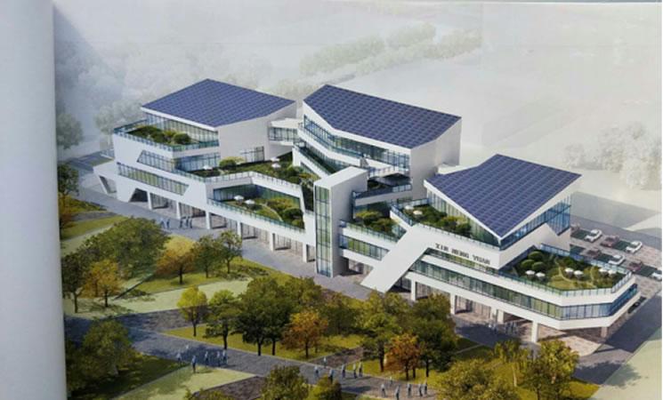 沣西新城光储一体化  新能源汽车服务中心