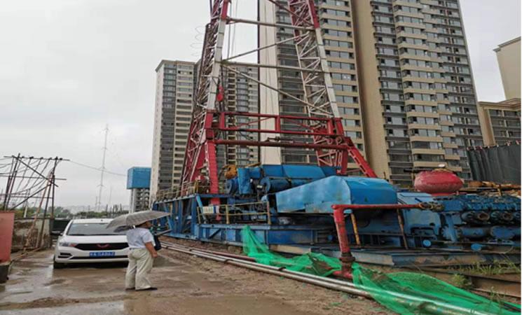 沣西新城无干扰地热能供热项目(三期)